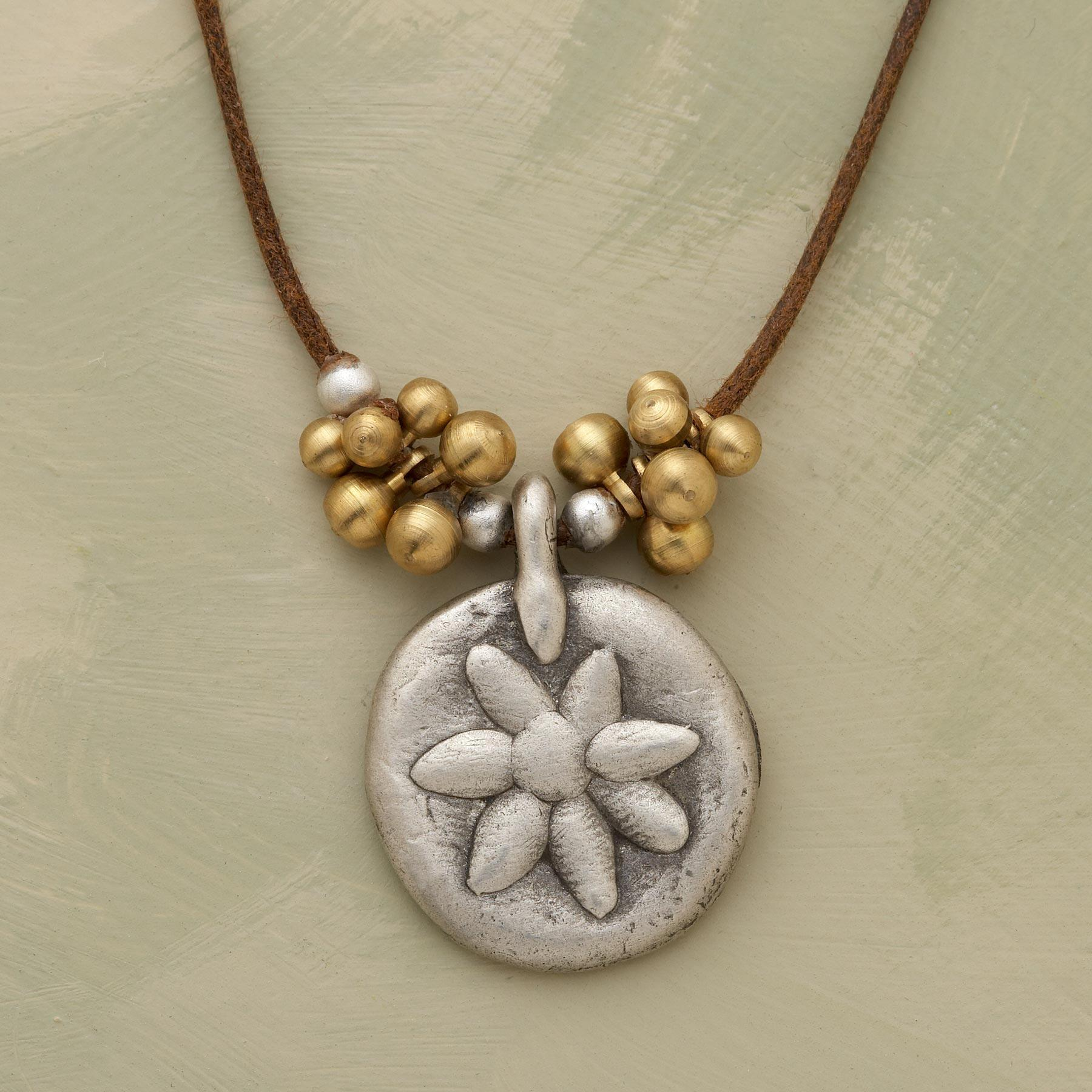PRESSED FLOWER NECKLACE: View 1