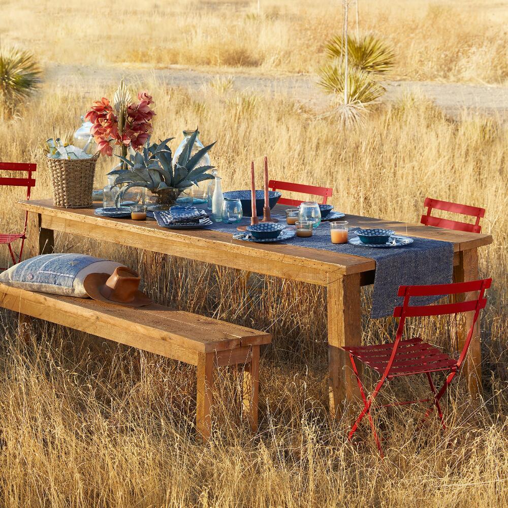 Reclaimed Wood Indoor/Outdoor Table | Robert Redford's Sundance ...