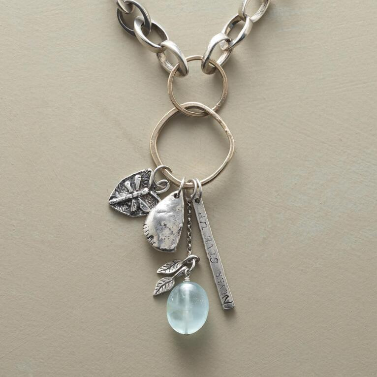DRAGONFLY CHARM NECKLACE