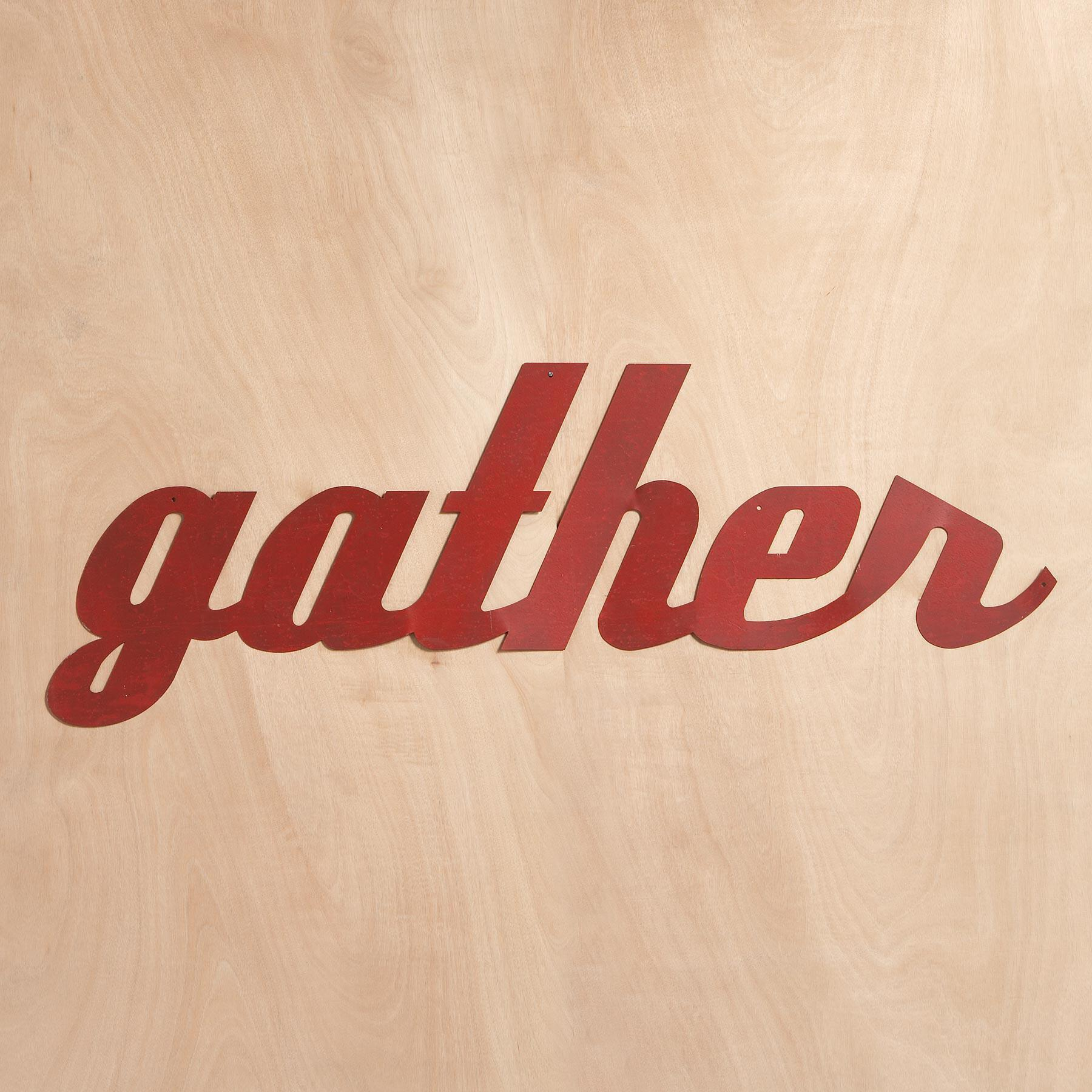 GATHER SIGN: View 1