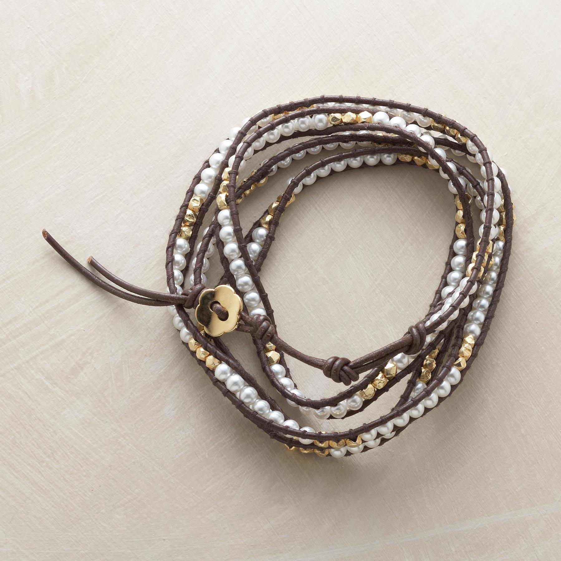 LUNAR LADDER 5 WRAP BRACELET: View 3