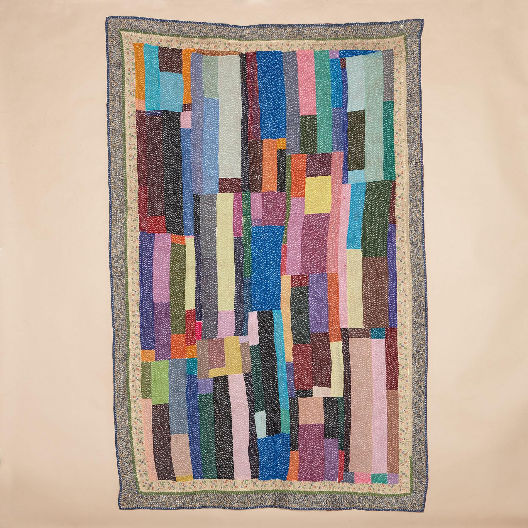 ASHA QUILTED THROW: View 1
