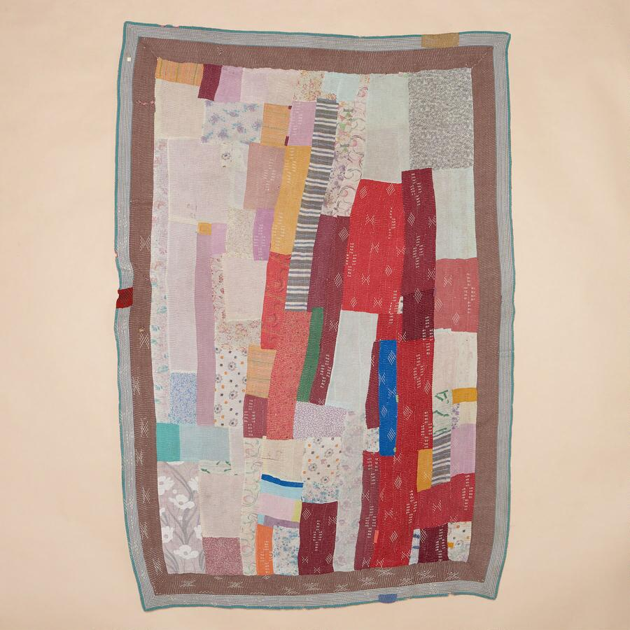 ONE-OF-A-KIND ARCHANA QUILTED THROW