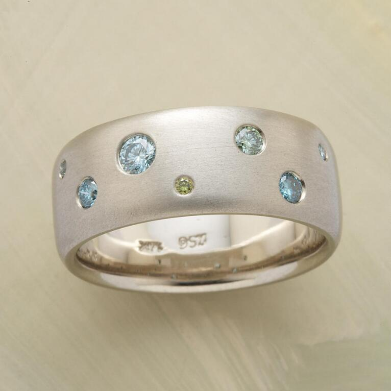 BLUE DIAMOND BONANZA RING