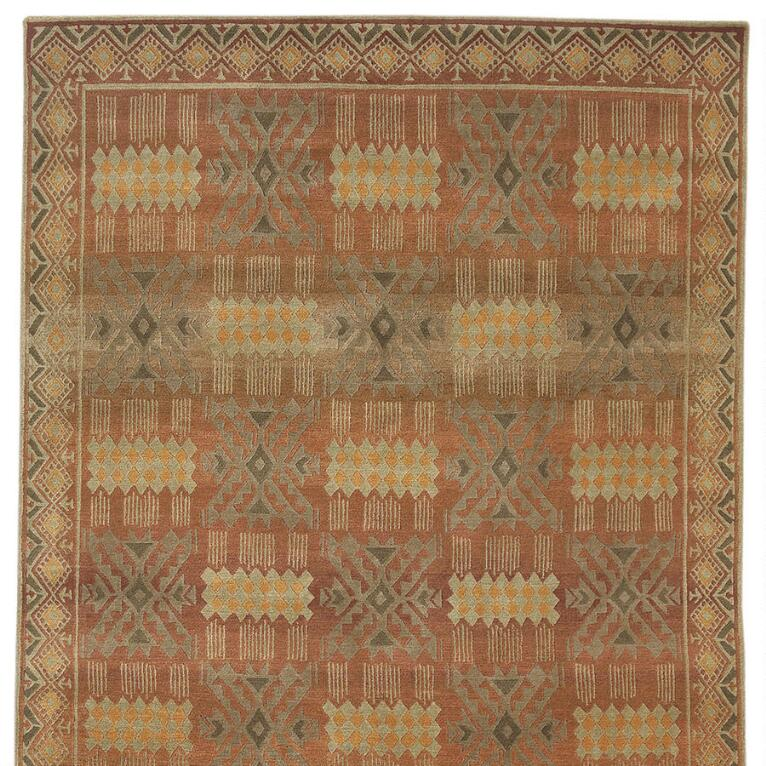 CUZCO TIBETAN HAND KNOTTED RUG