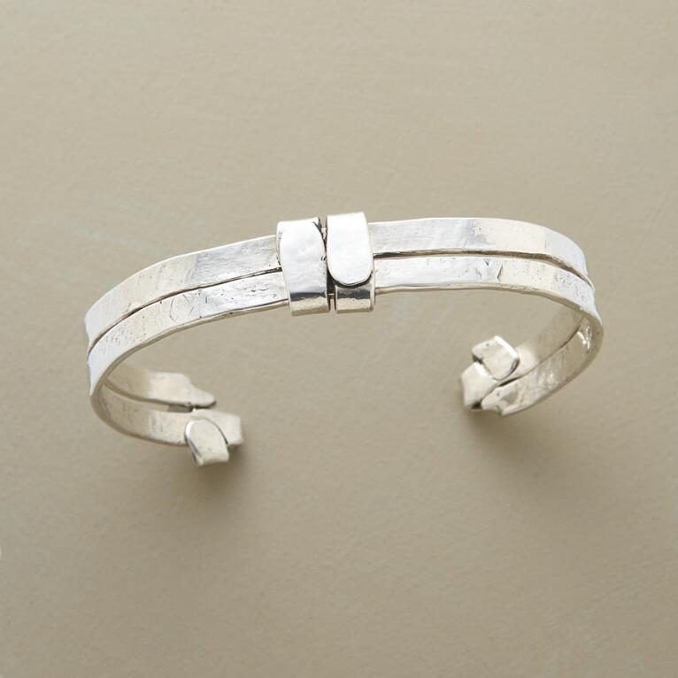 BELTED STERLING CUFF