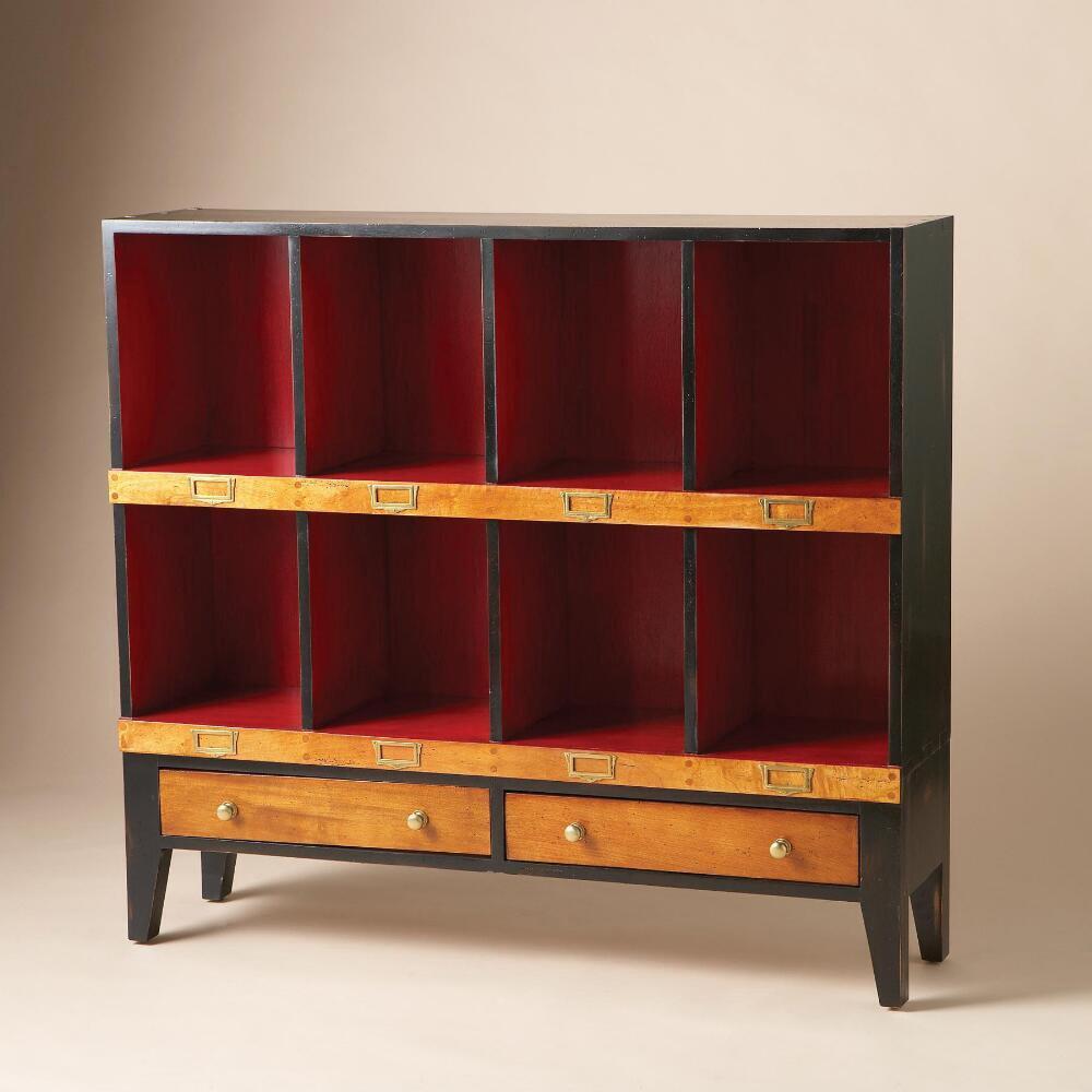DRAPER LOW CABINET: View 4