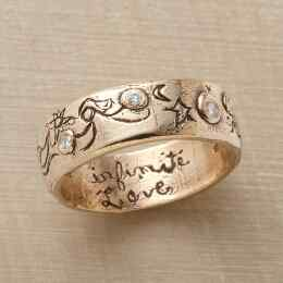 YELLOW GOLD INFINITE LOVE RING