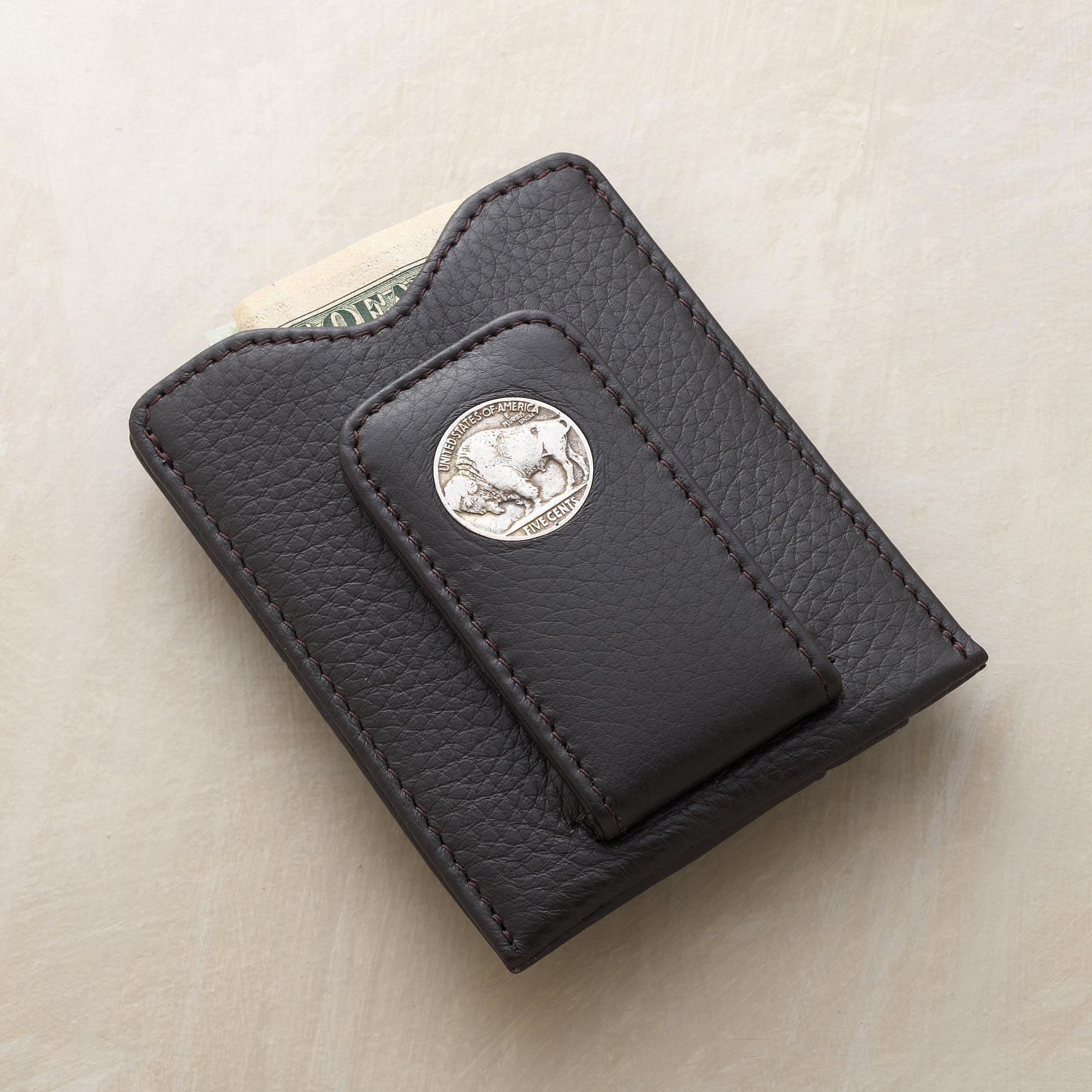 VINTAGE BUFFALO NICKEL MONEY CLIP: View 1