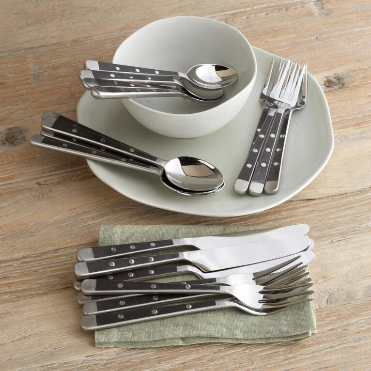 ARCHIVE ARTISAN FLATWARE, 20-PIECE SET