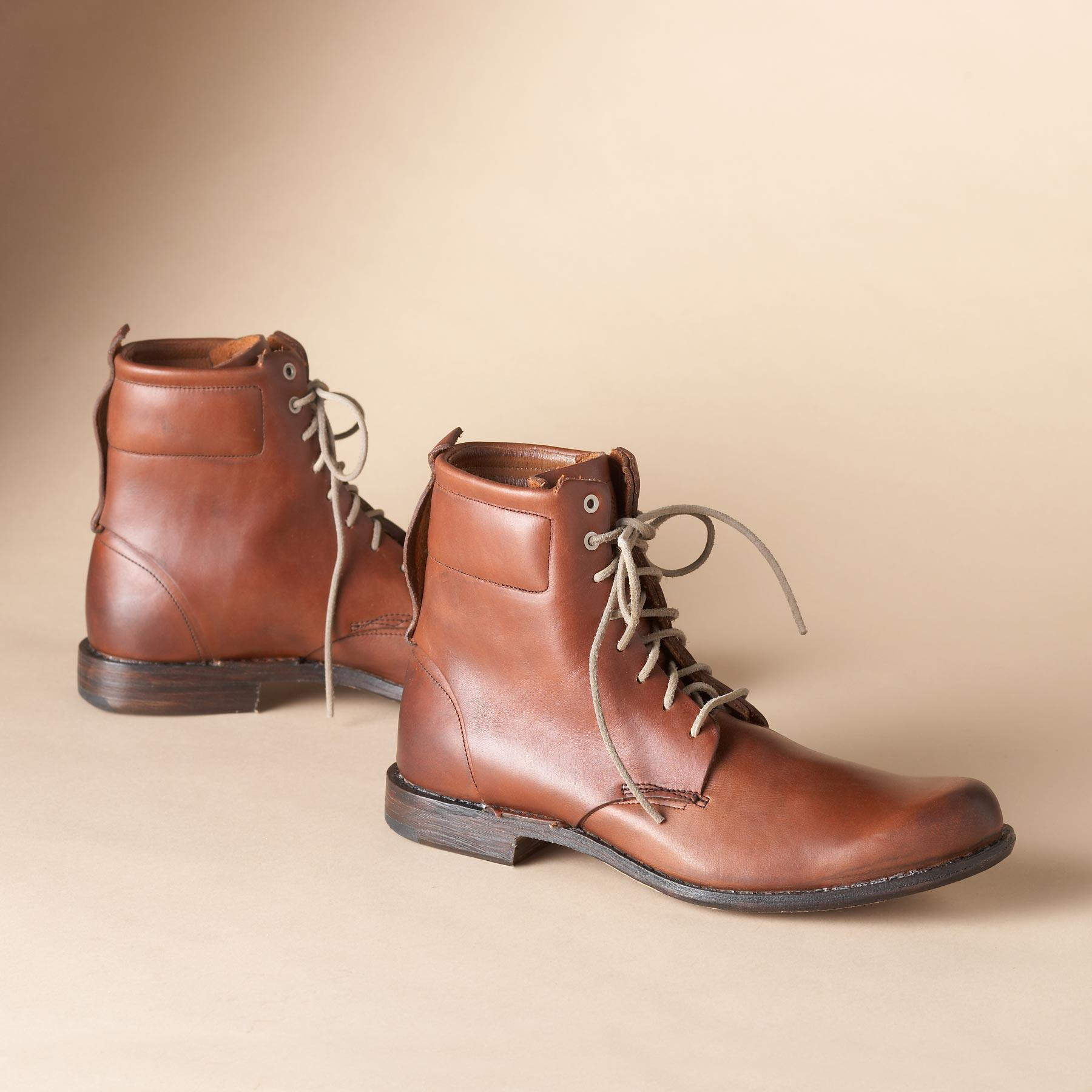 T B C LACE UP BOOT: View 1