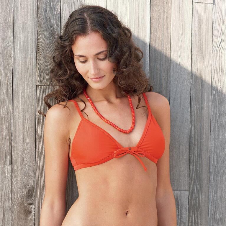 SUN RAY TRIANGLE BIKINI TOP