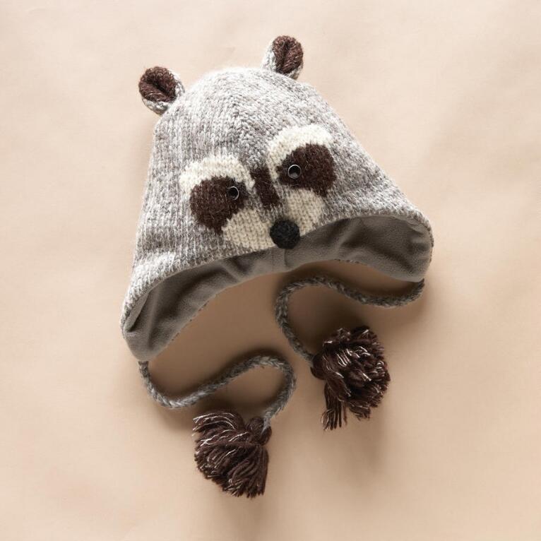 CREATURE COMFORT RACOON HAT