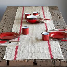 PROVENCE LINEN TABLE RUNNER