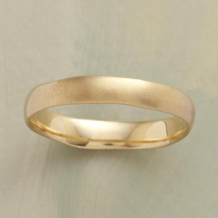 ATTICUS BAND RING GOLD