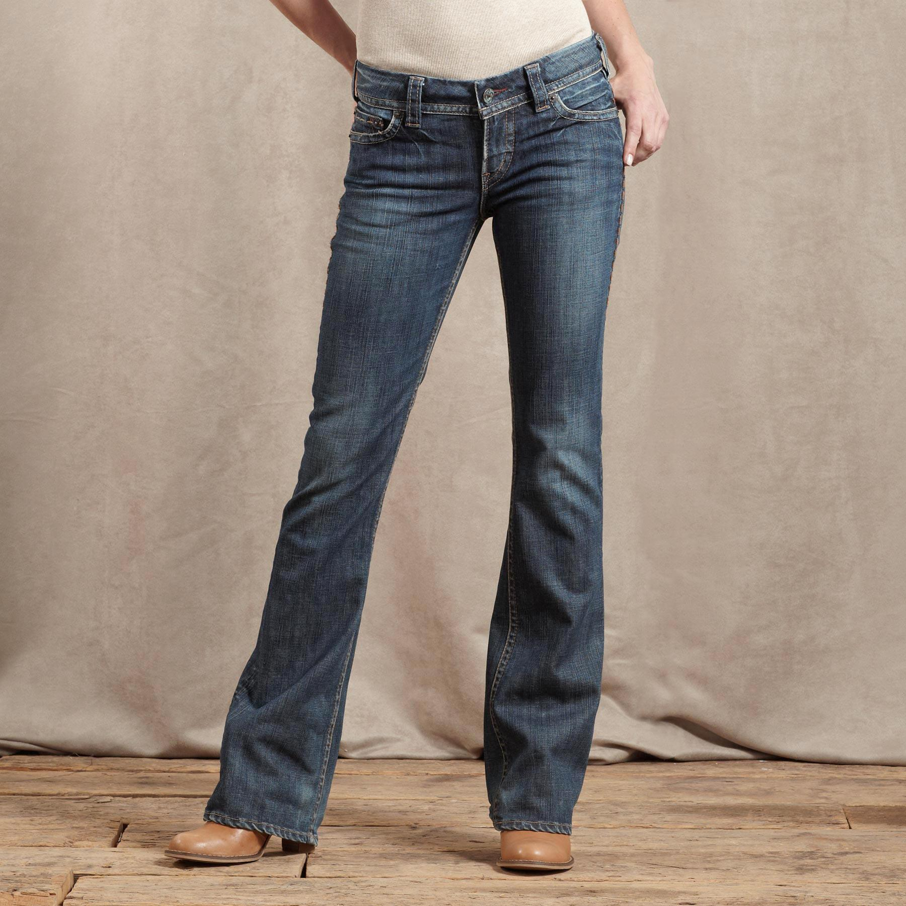 1921 DENIM CLASSIC BOOTCUT JEANS: View 1