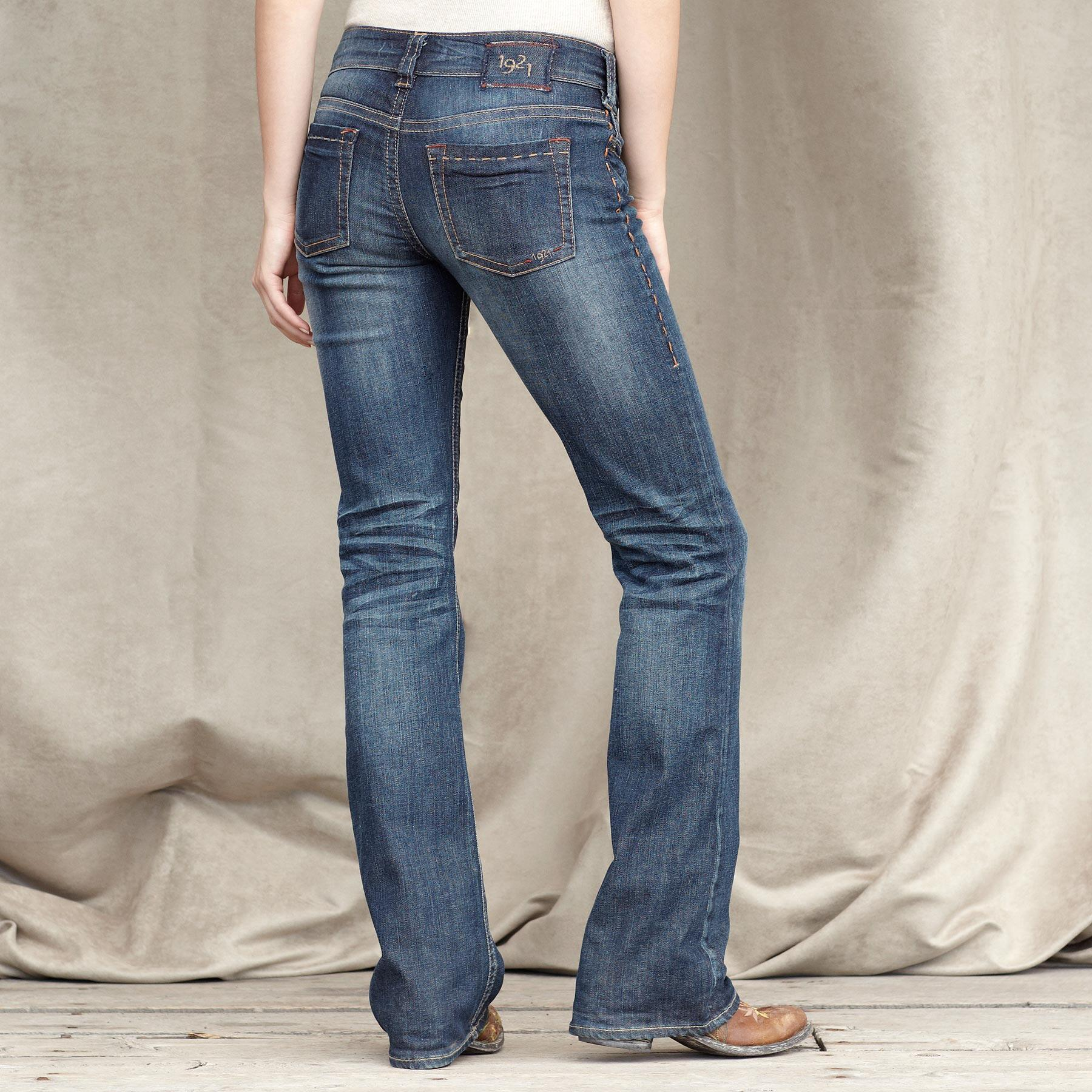 1921 DENIM CLASSIC BOOTCUT JEANS: View 2