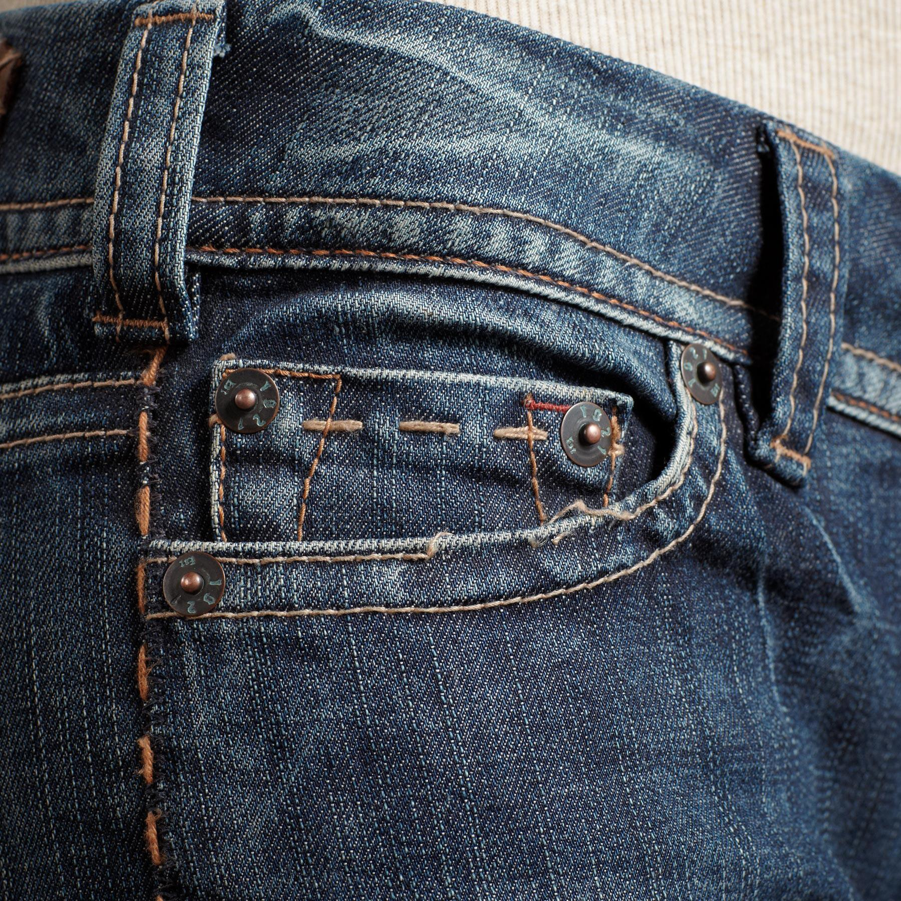 1921 DENIM CLASSIC BOOTCUT JEANS: View 4