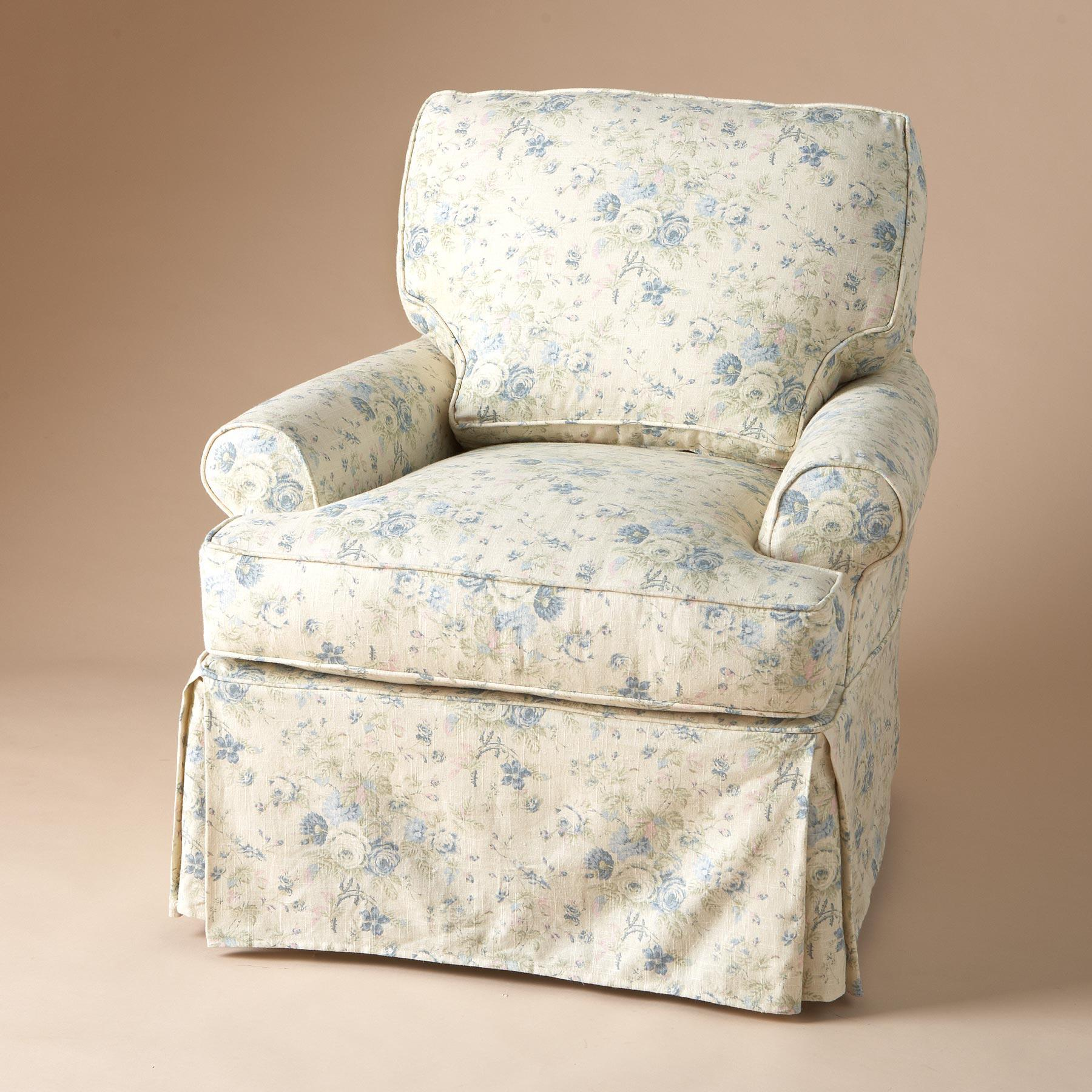 COTSWOLD SLIPCOVERED CHAIR: View 1