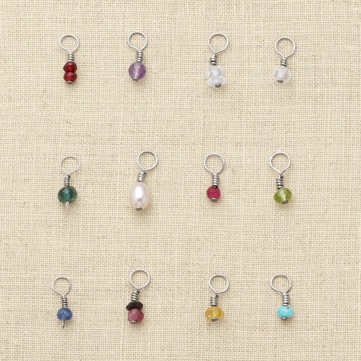 BIRTHSTONE CHARMS: View 1