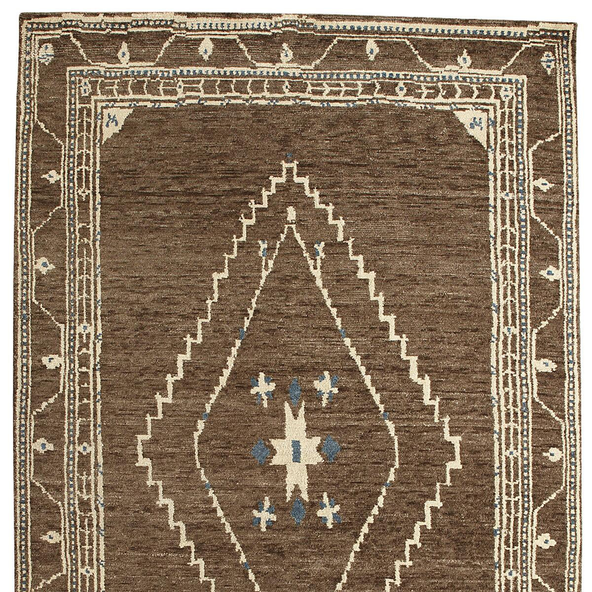 LURIA TIBETAN KNOTTED RUG, LARGE: View 1