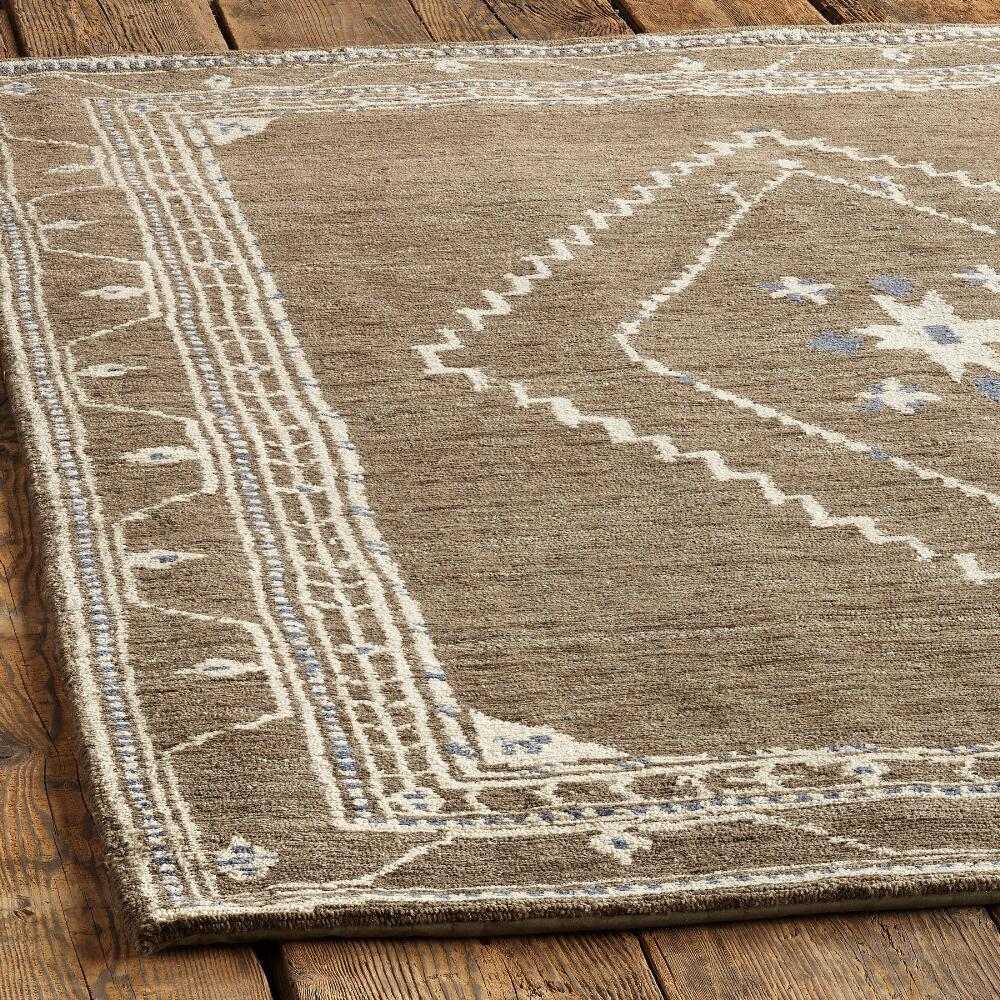 LURIA TIBETAN KNOTTED RUG, LARGE: View 2