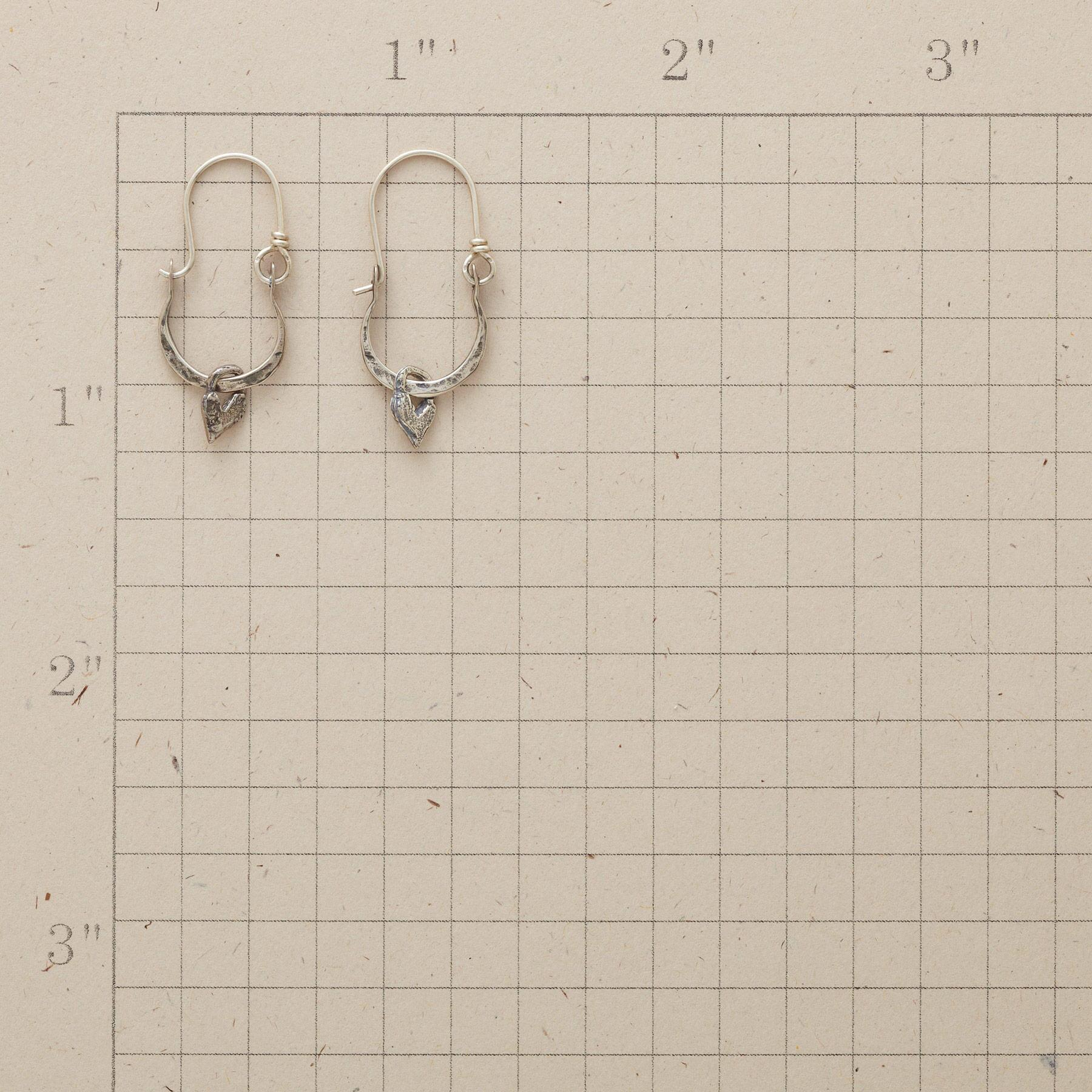 STERLING SILVER BELLA EARRINGS: View 2