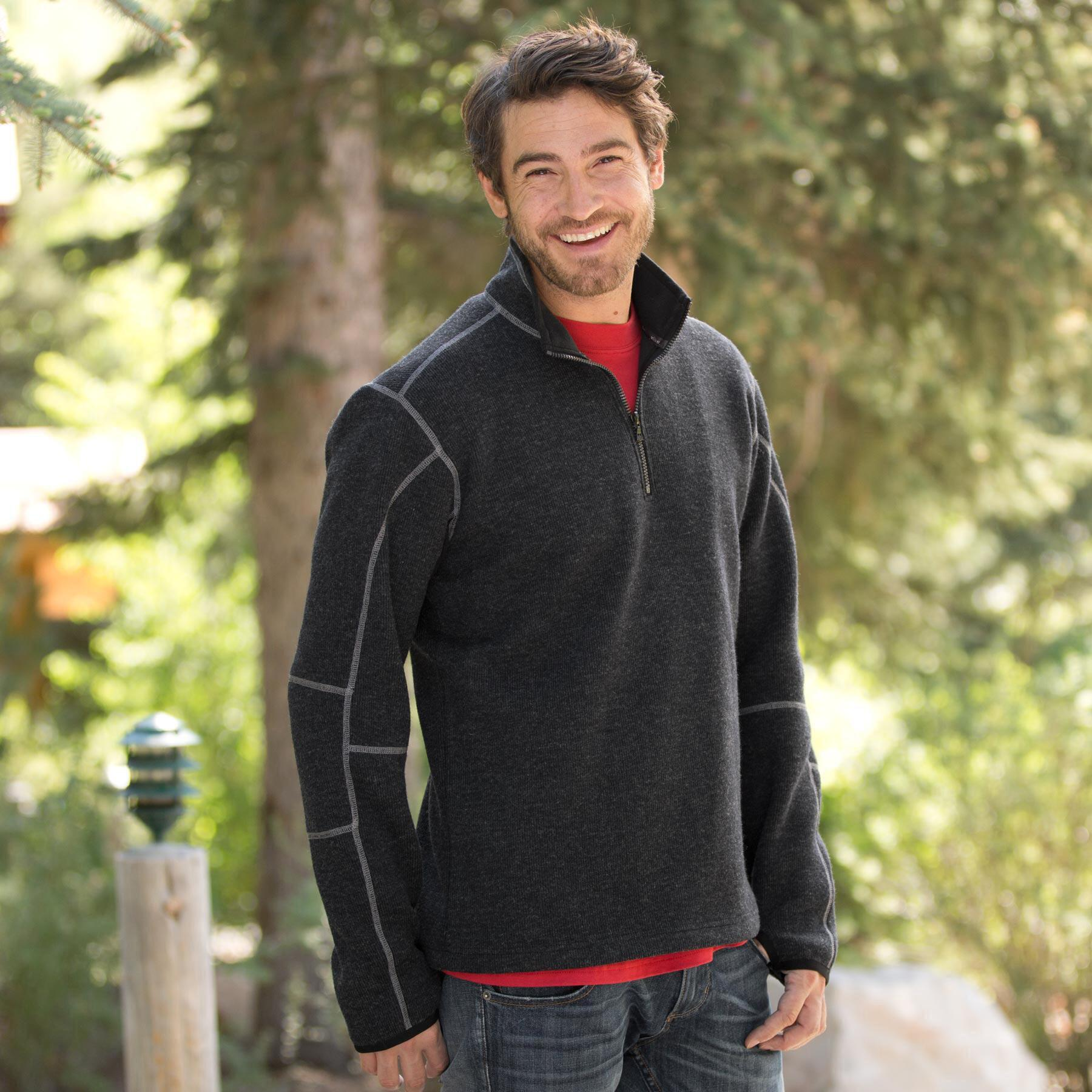 THOR 1/4 ZIP ALL-WEAR: View 1