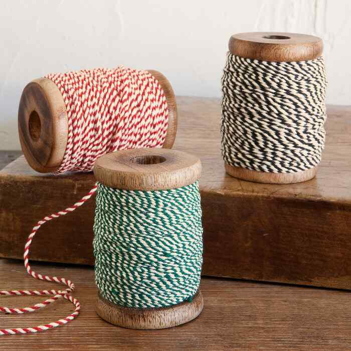 BAKER'S CORD CLASSIC RIBBONS, SET OF 3