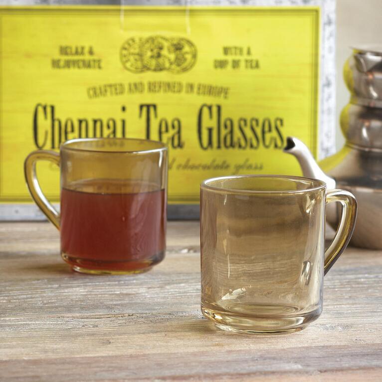 CHENNAI TEA GLASSES, SET OF 2