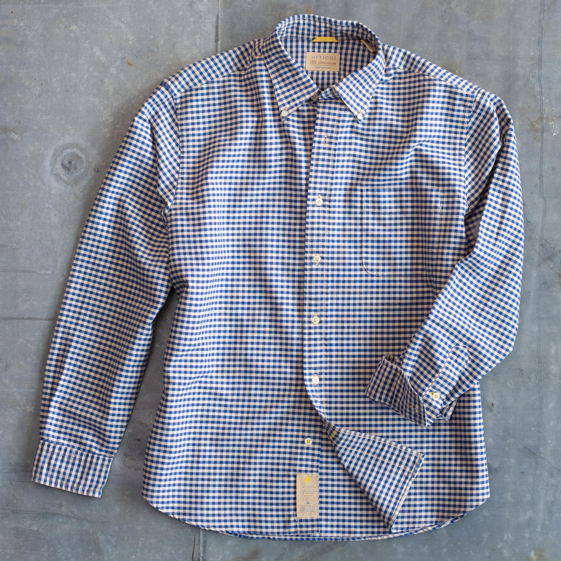 WEATHERED CHECKED SHIRT: View 1