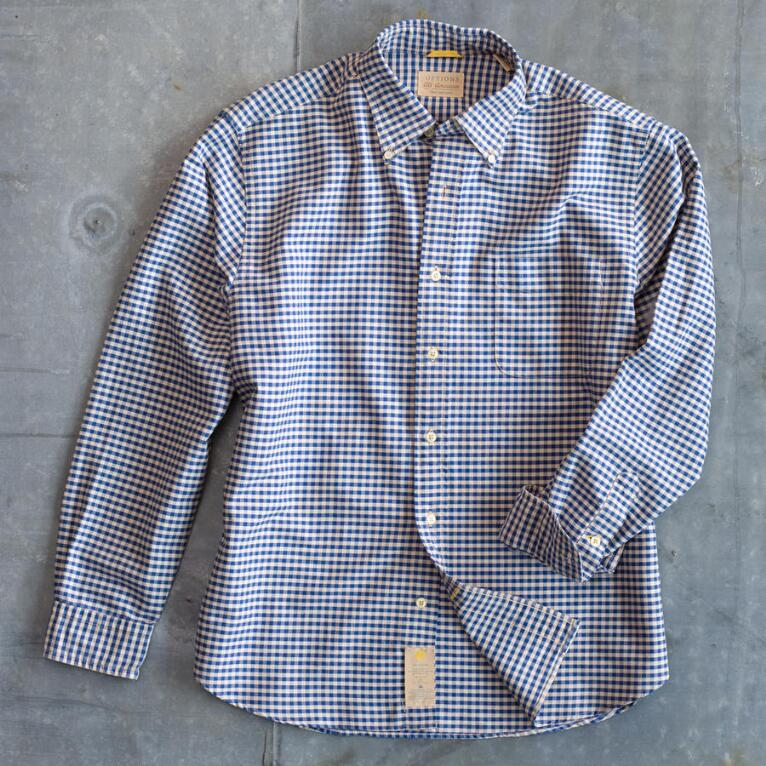WEATHERED CHECKED SHIRT