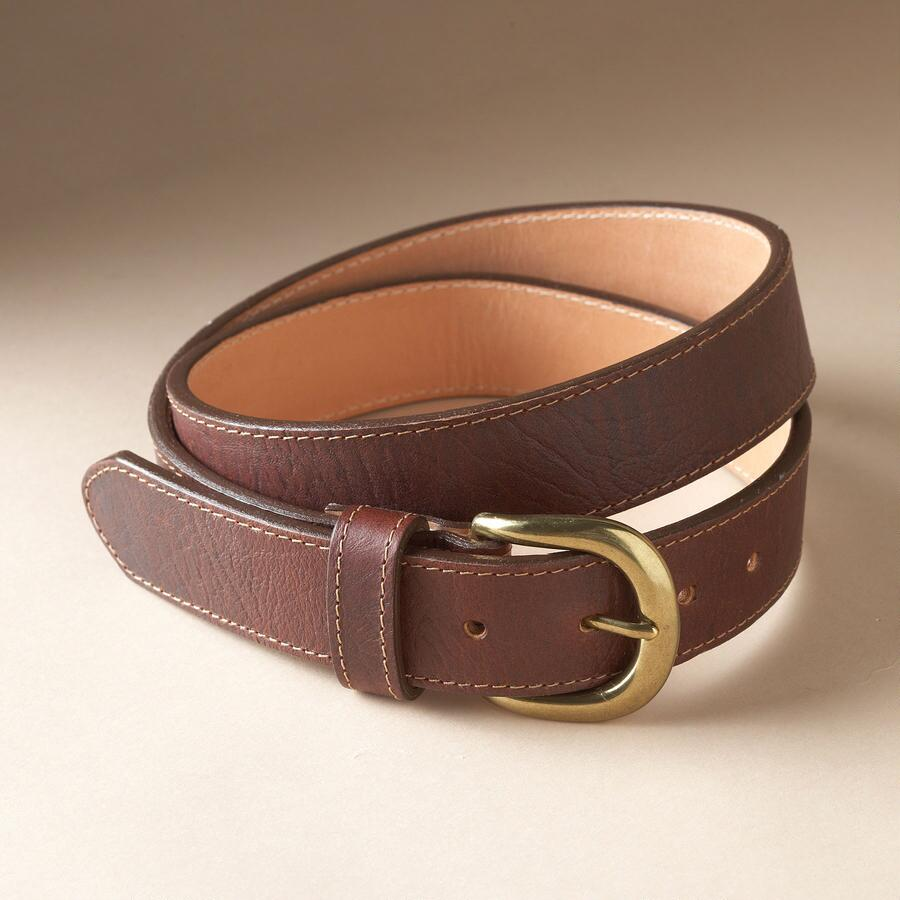 BISON SIMPLE LEATHER BELT