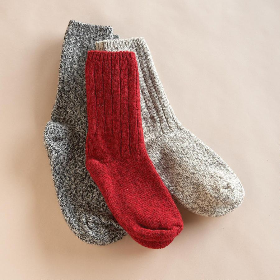 ORIGINAL RAG SOCKS, SET OF 3
