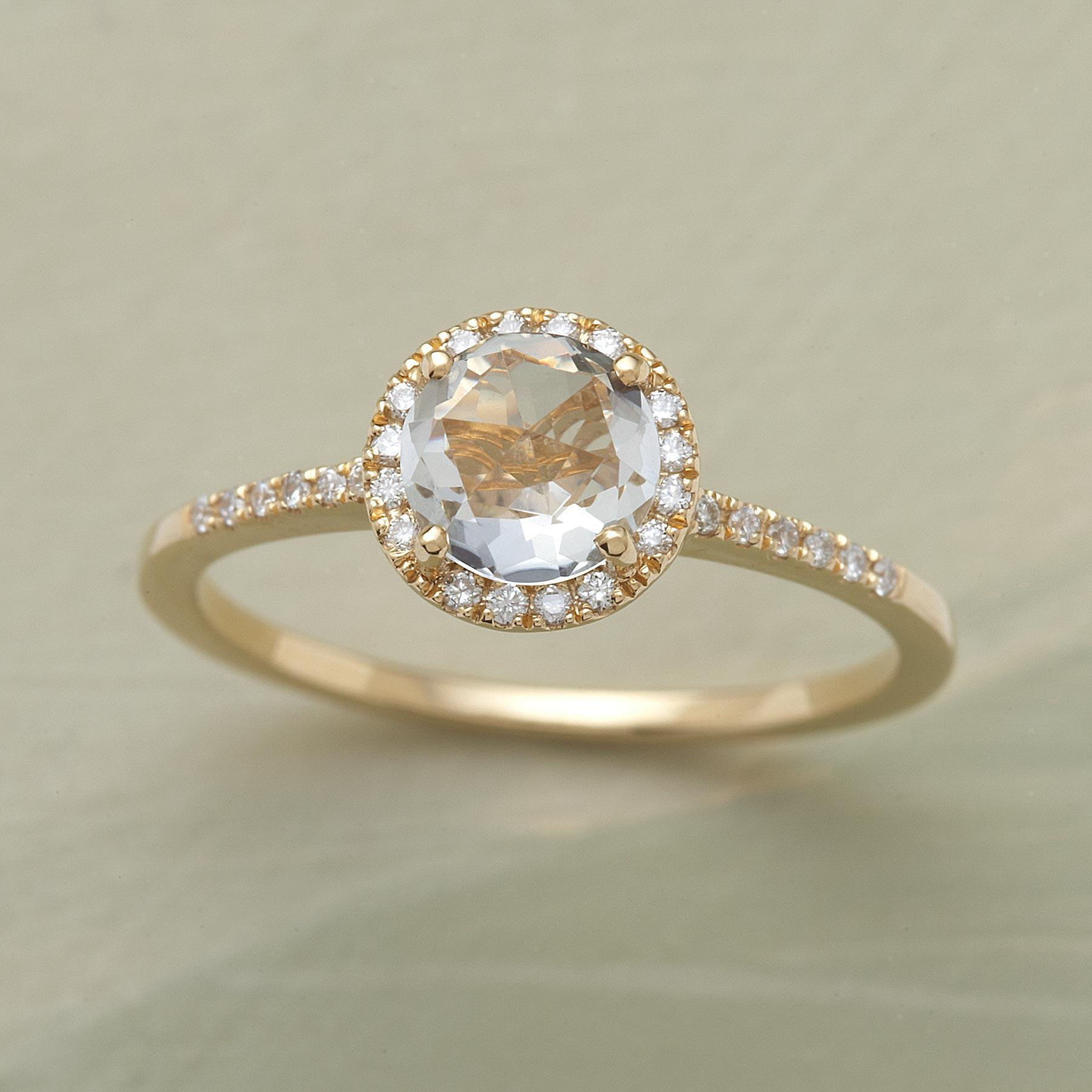 WHITE ROSE RING: View 1