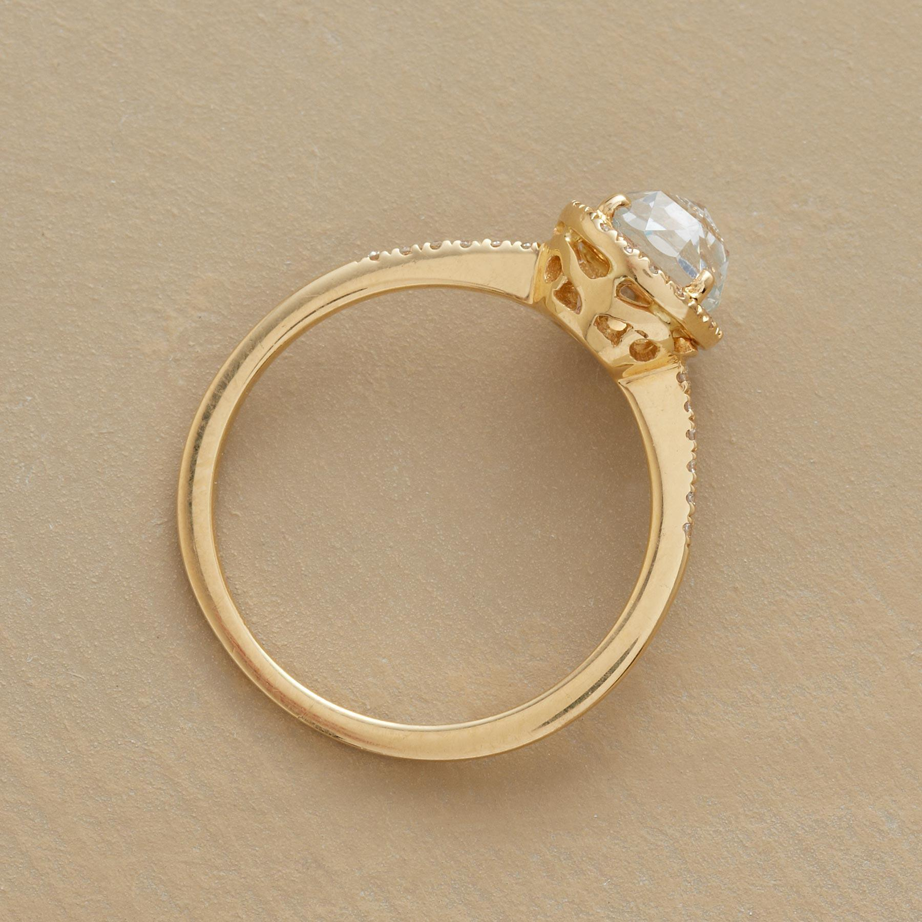 WHITE ROSE RING: View 3