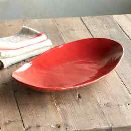 MIX IT UP OVAL SERVING PLATTER