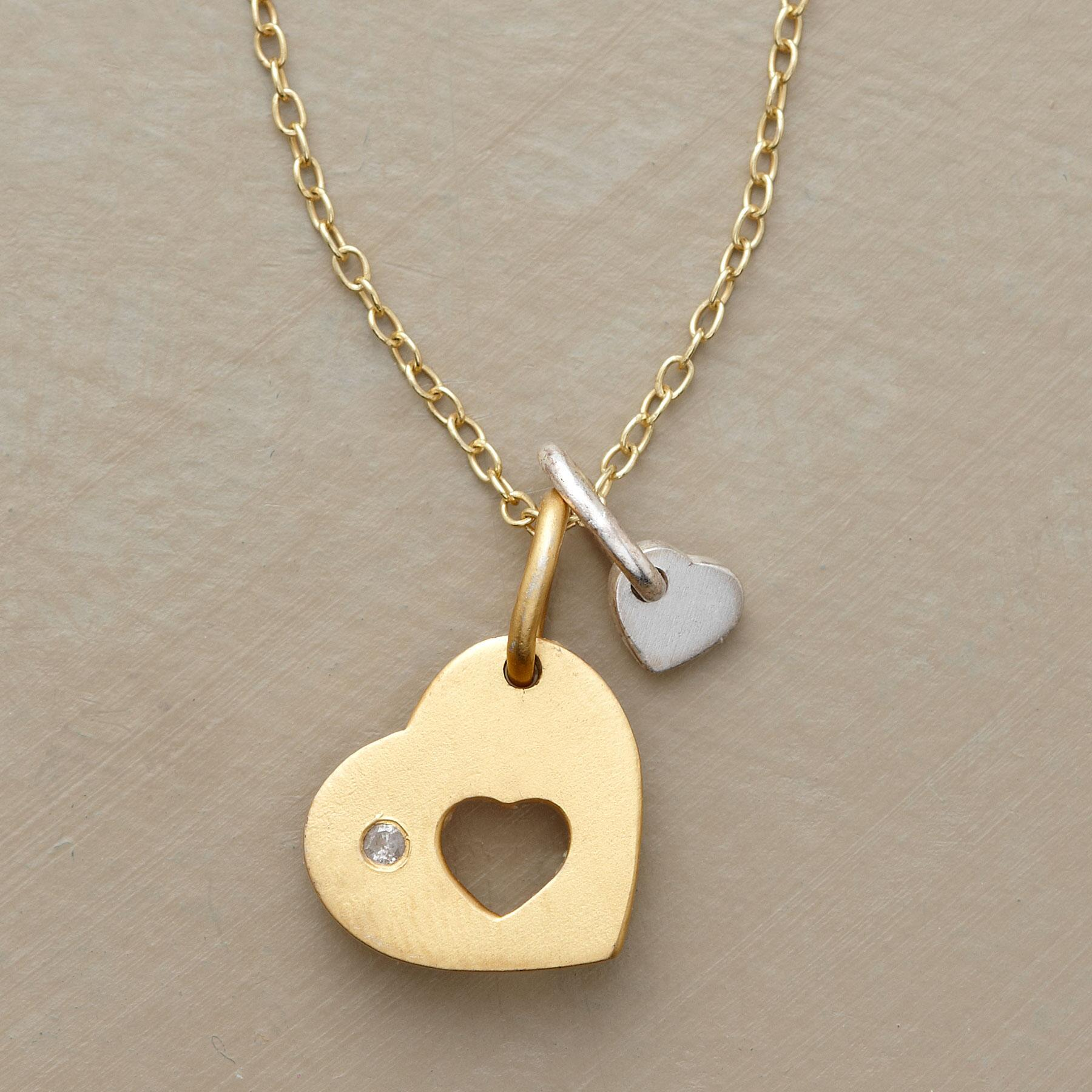 DOUBLE THE LOVE NECKLACE: View 1