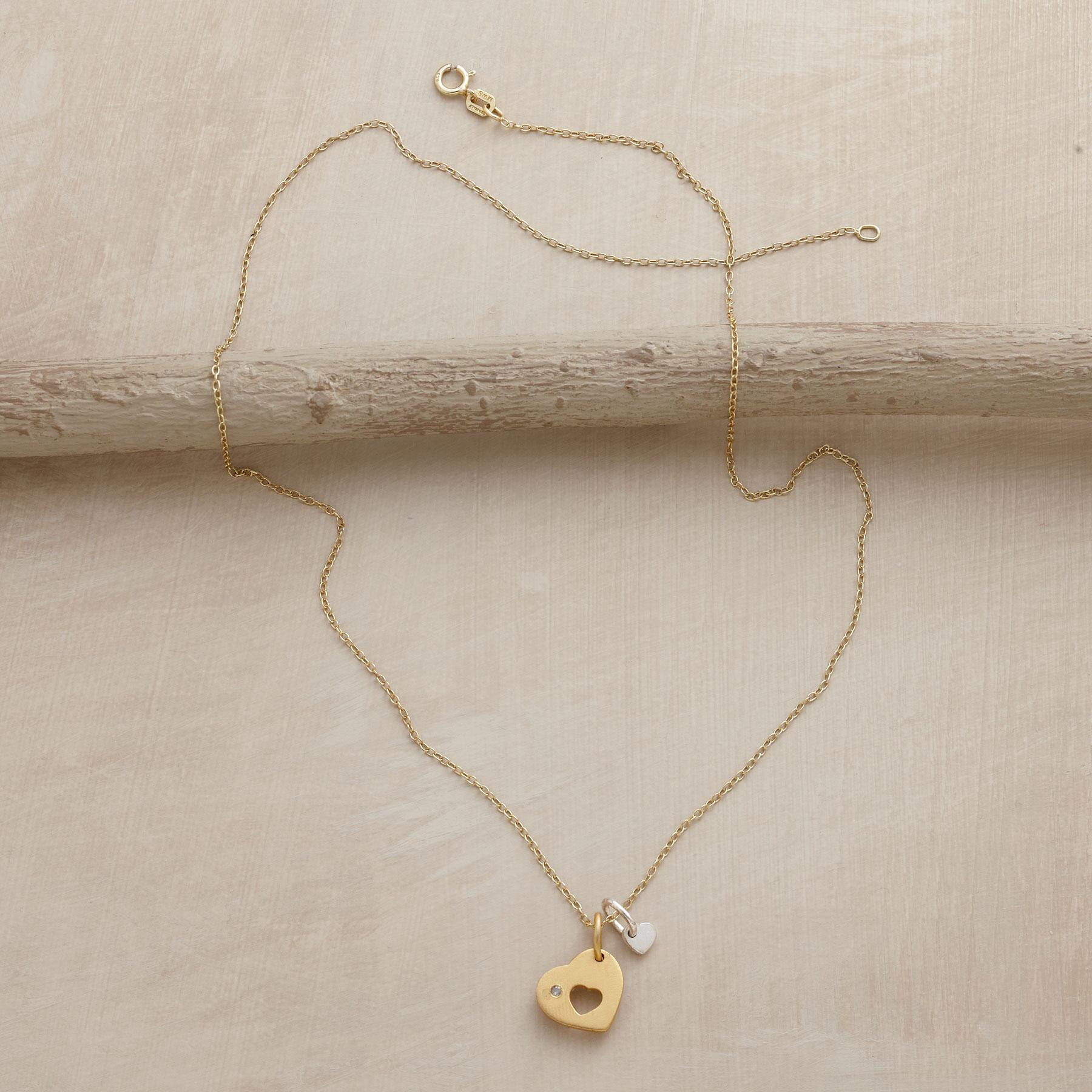 DOUBLE THE LOVE NECKLACE: View 2