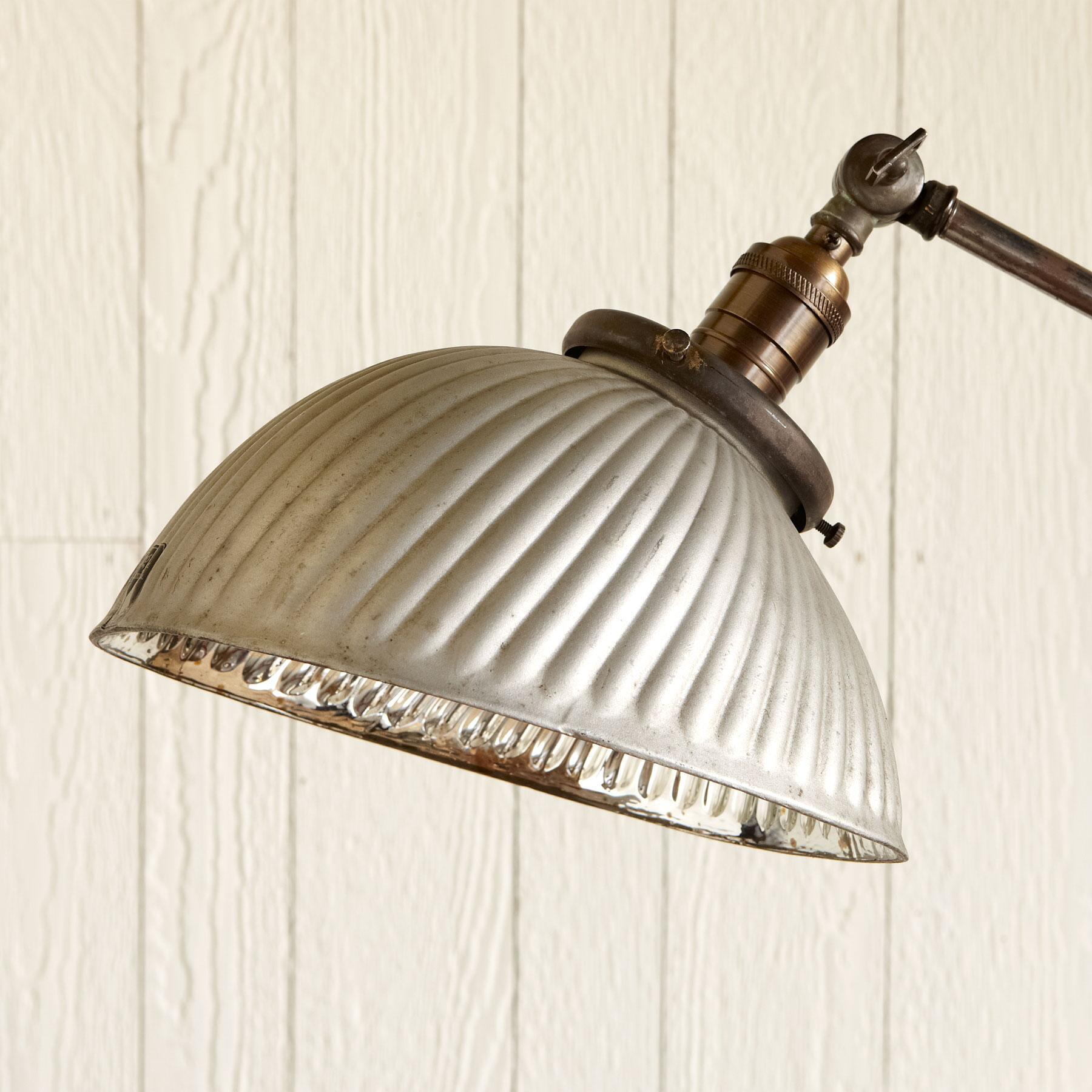 VINTAGE SILVER MERCURY FLOOR LAMP: View 2