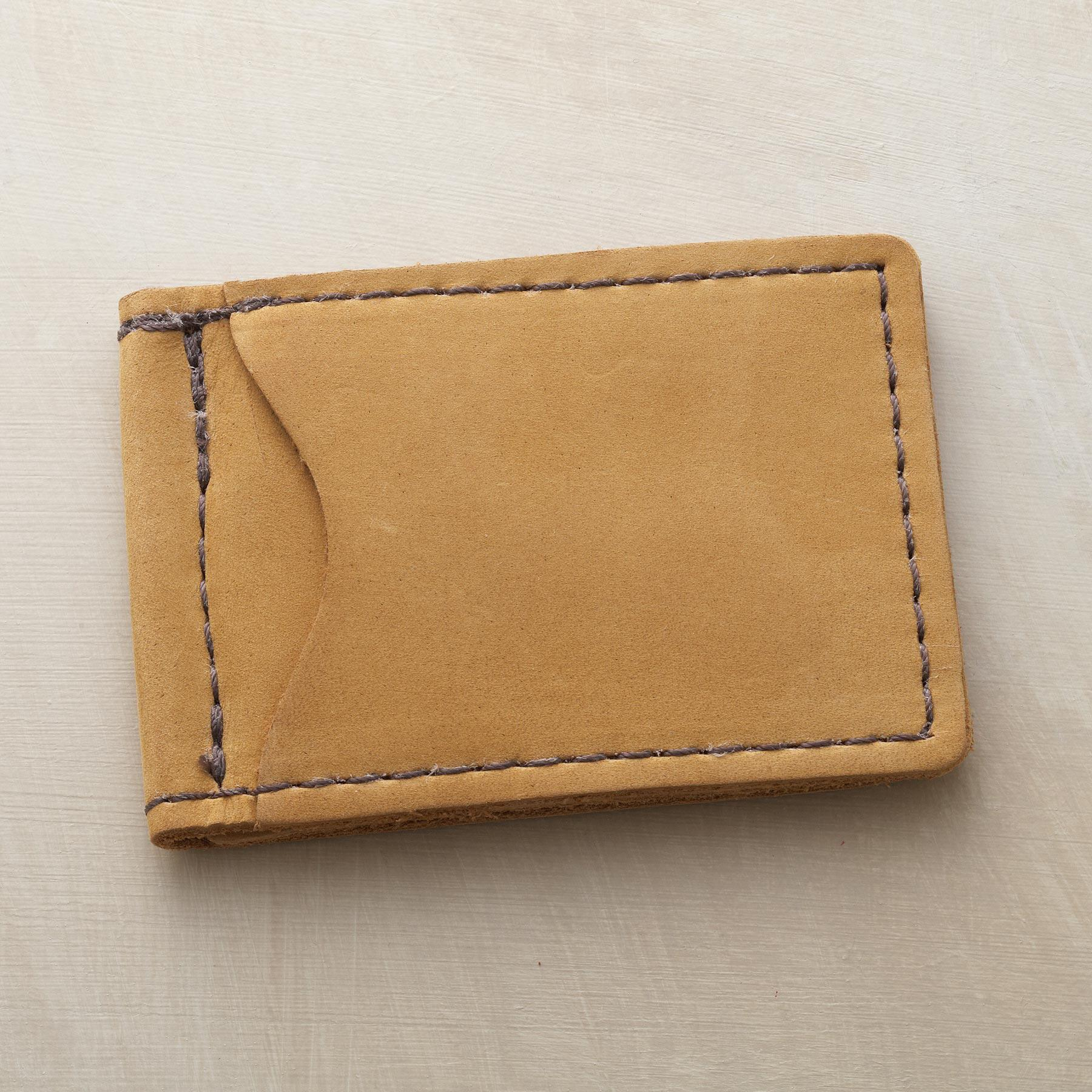 LEATHER MONEY CLIP: View 1
