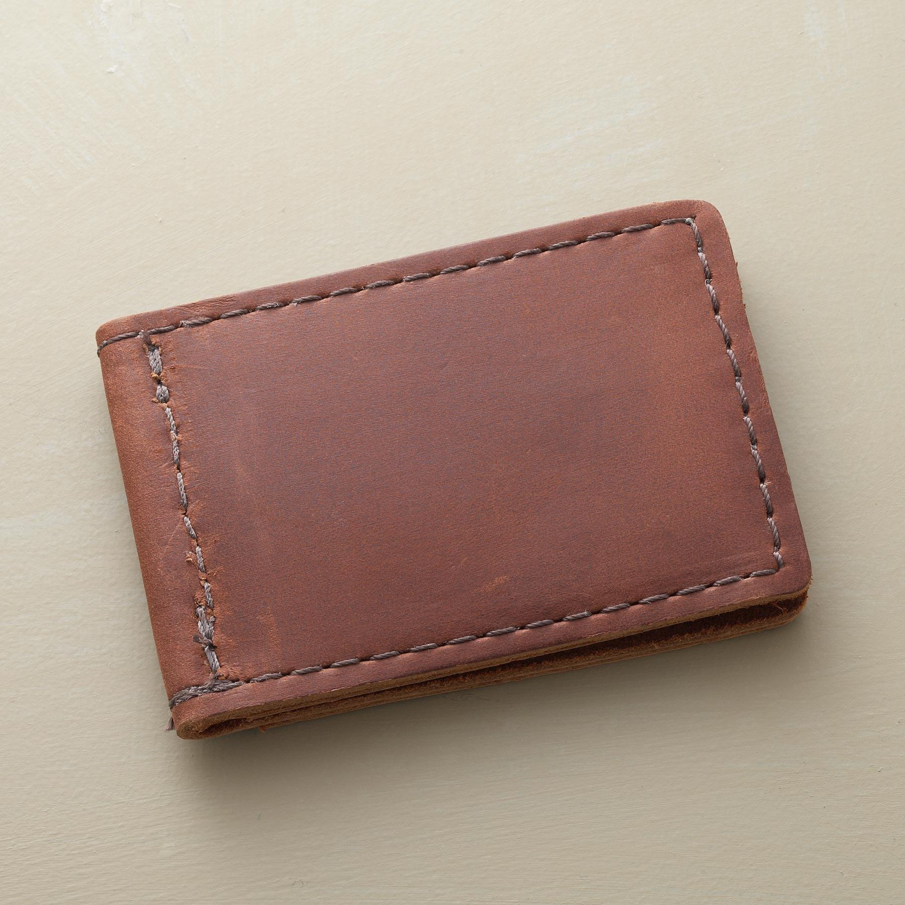LEATHER MONEY CLIP: View 2