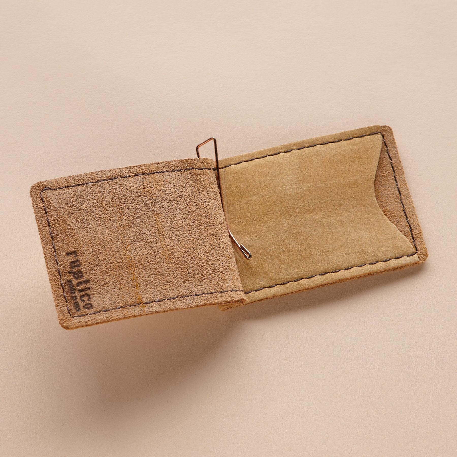 LEATHER MONEY CLIP: View 3