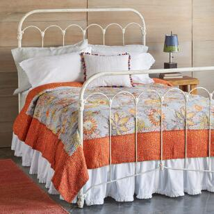 TROPICAL FLOWERS QUILT