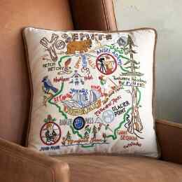 SOUVENIR NATIONAL PARKS PILLOW
