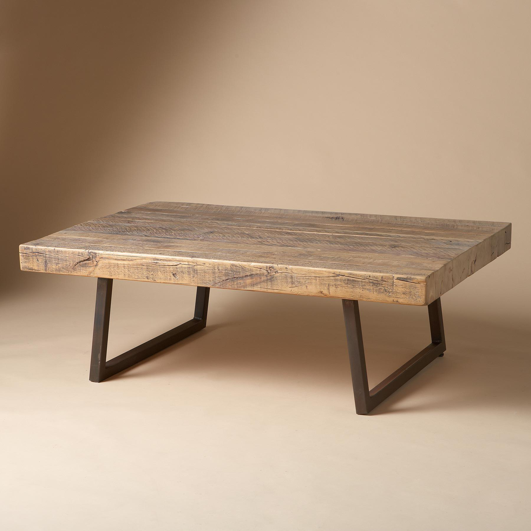 TIMBER PINE COFFEE TABLE: View 1