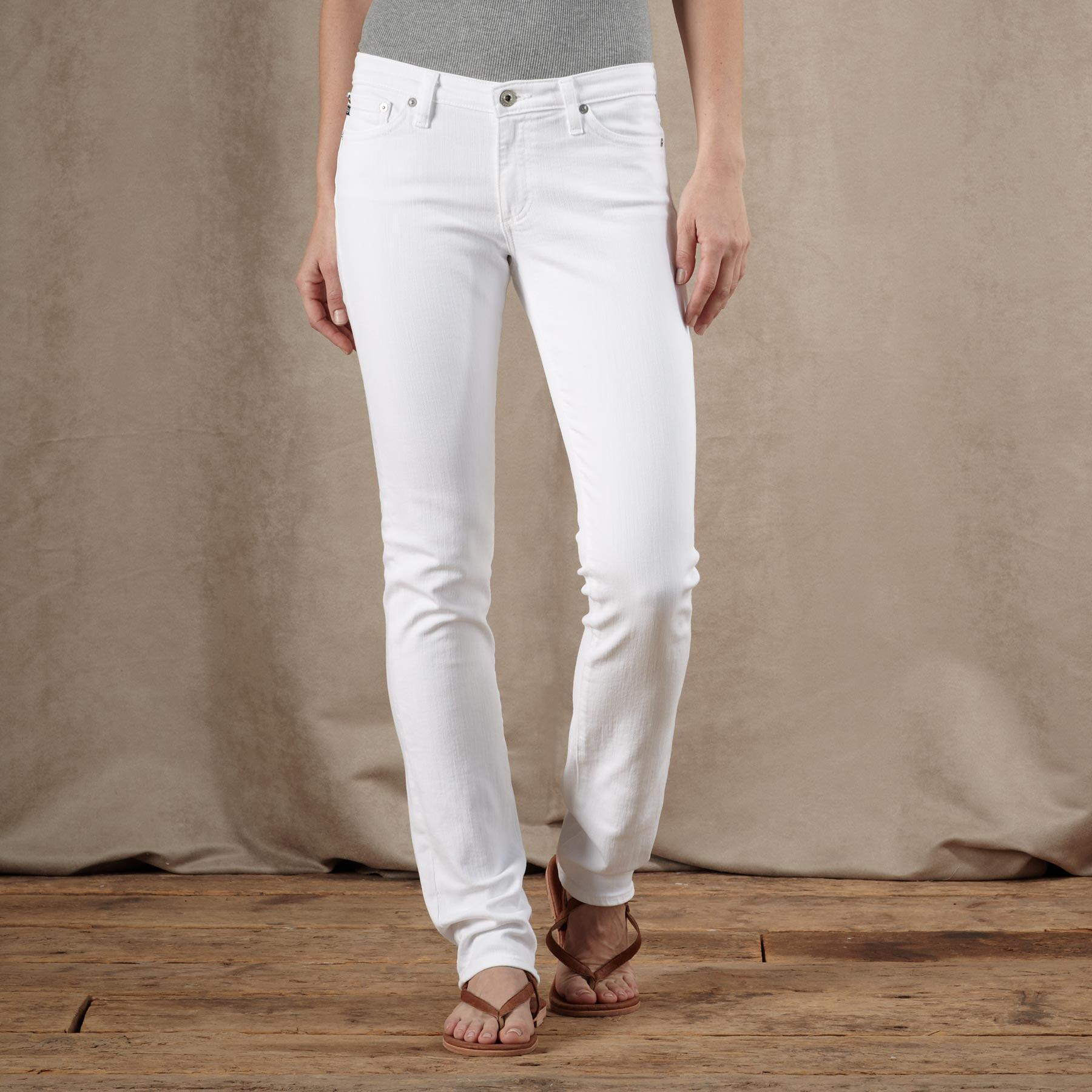A G PREMIERE SKINNY JEANS: View 1