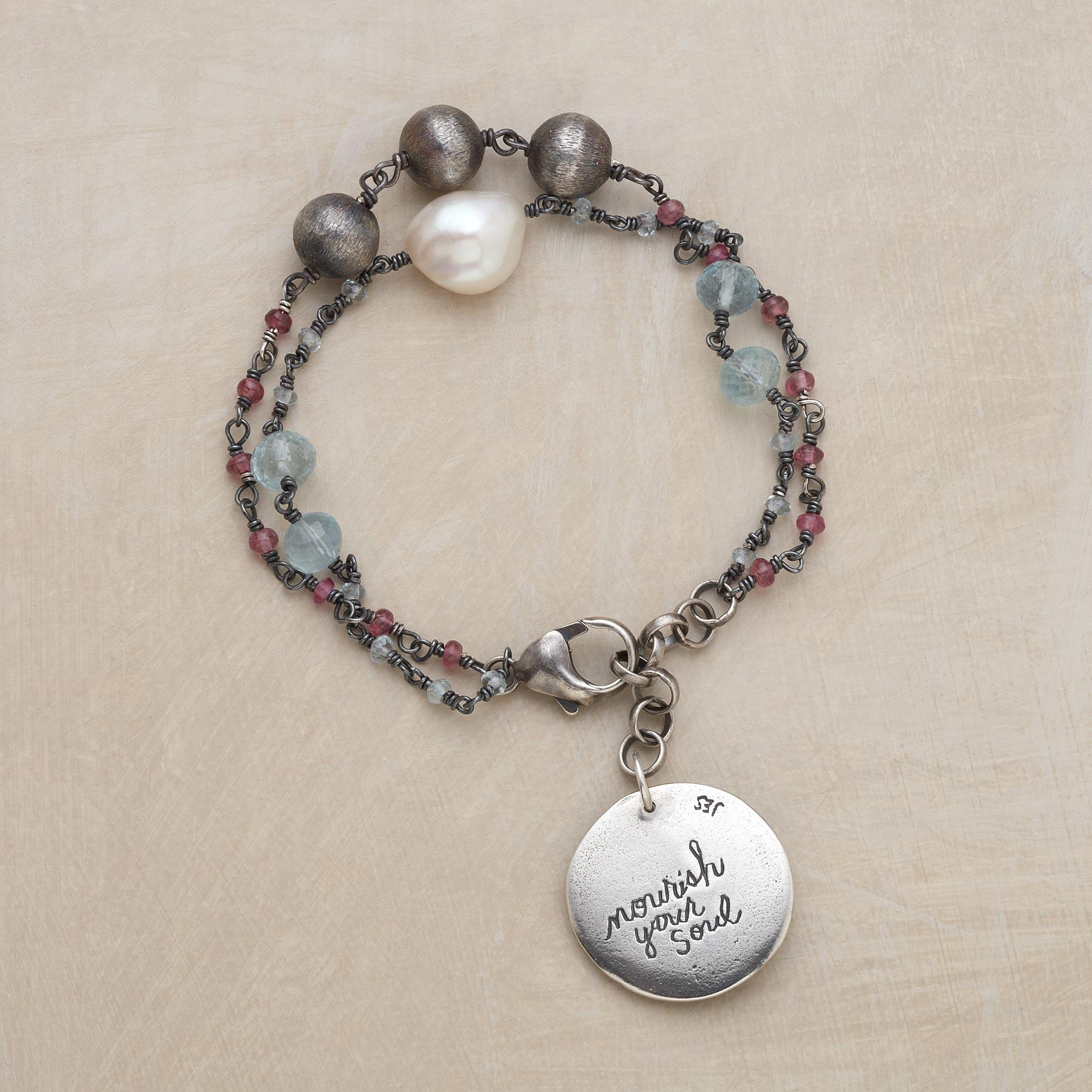 NOURISH YOUR SOUL BRACELET: View 2