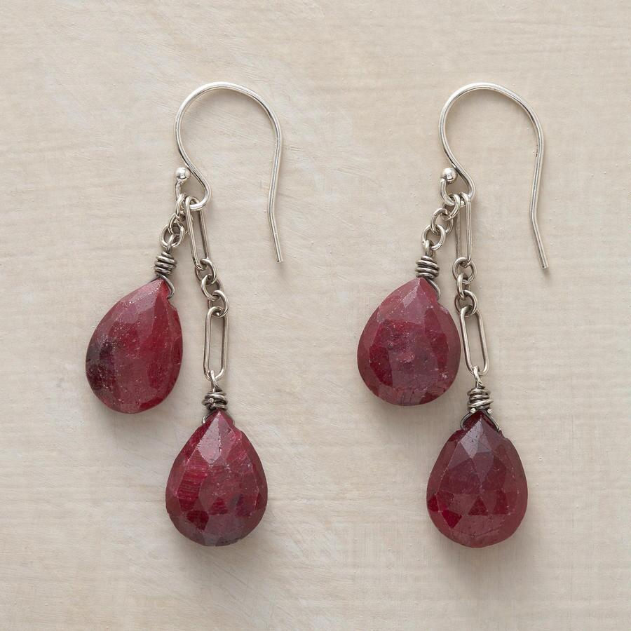 RIPE RUBY EARRINGS