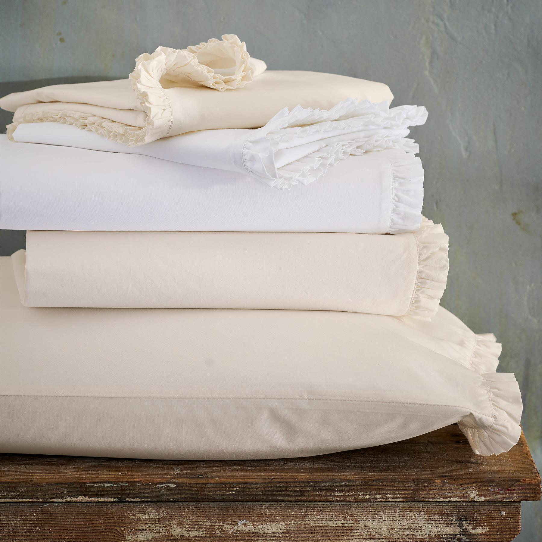 COUNTRY RUFFLE DUVET COVER: View 2